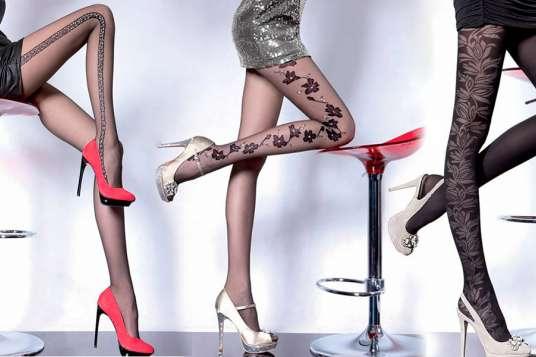 Фото женских ляжек в колготках #4